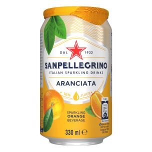 San Pellegrino Orange Can x24