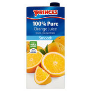 Orange Juice Carton x24