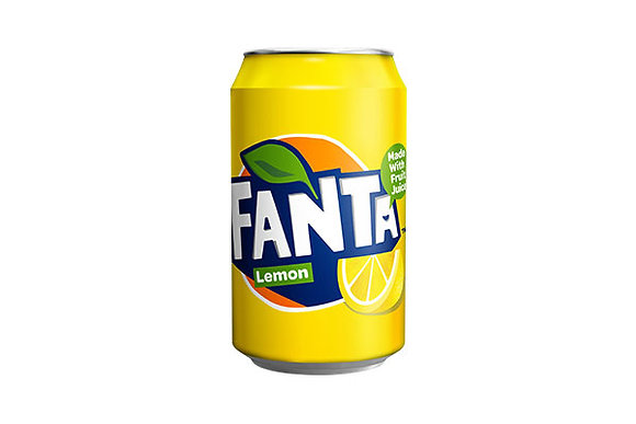 Fanta Lemon Can x24