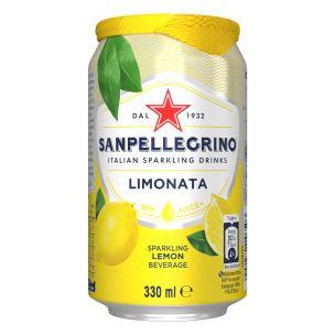 San Pellegrino Lemon Can x24