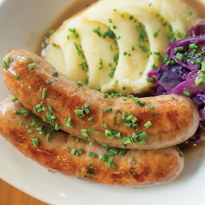 Pork Sausages 1.5kg (18 Sausages)