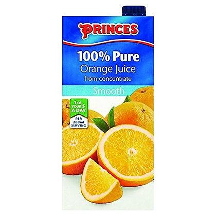 Princes Orange Juice 1ltr