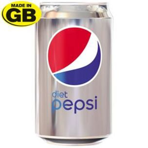 Diet Pepsi Can x24