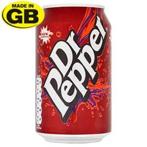 Dr Pepper Can x24