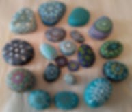 Turquoise & blue stones