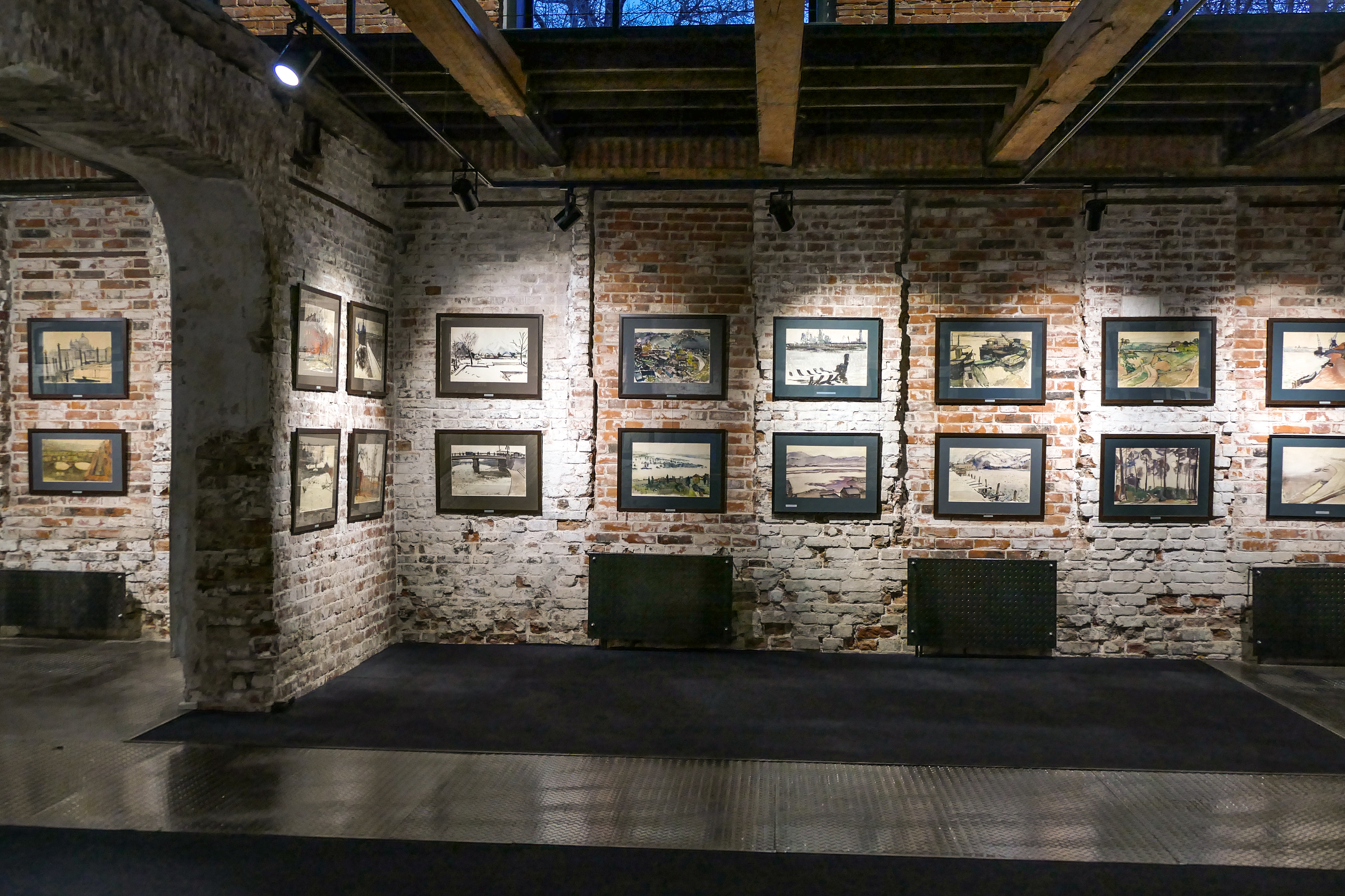 First level of exhibition view