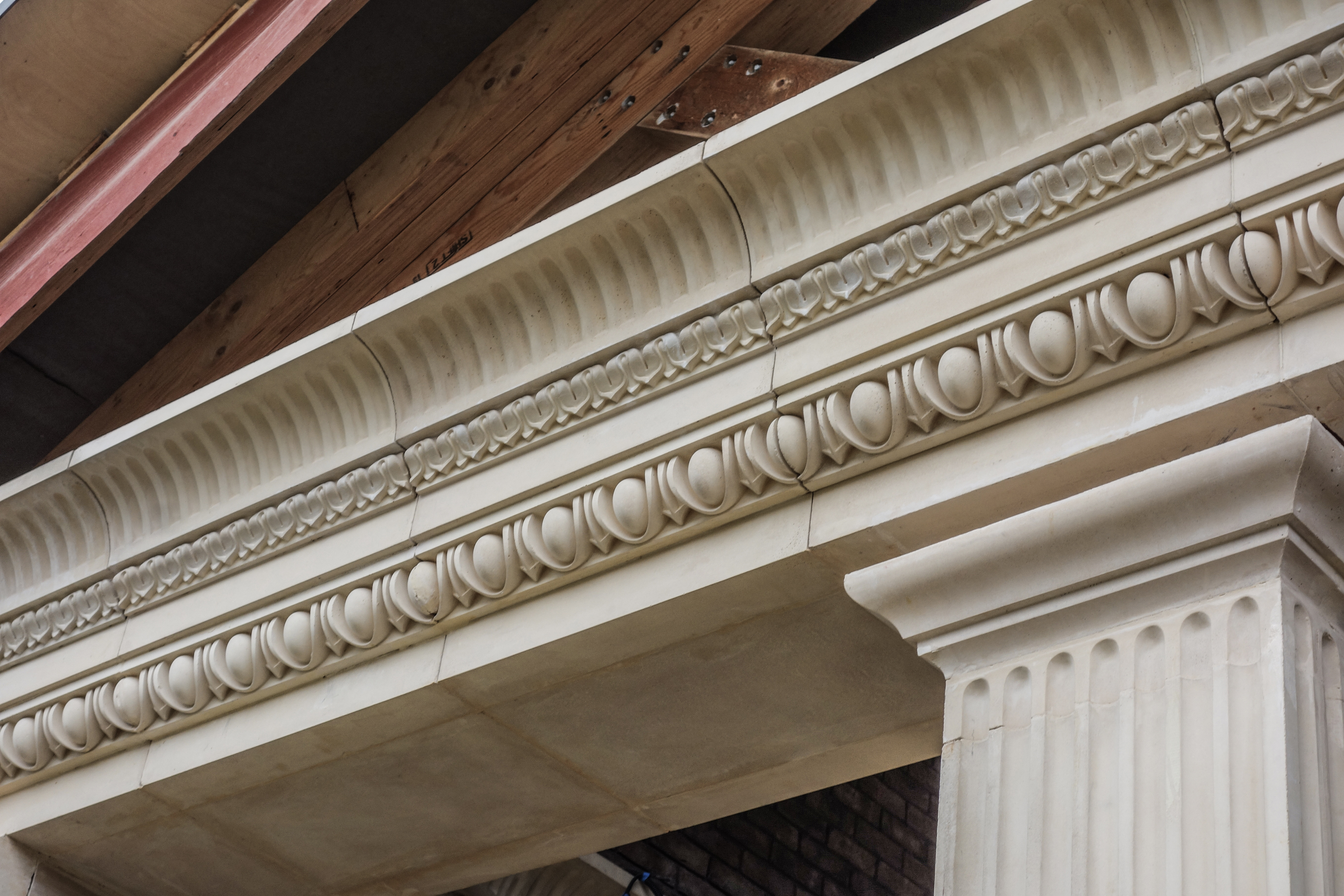 FRAGMENT OF THE CORNICE