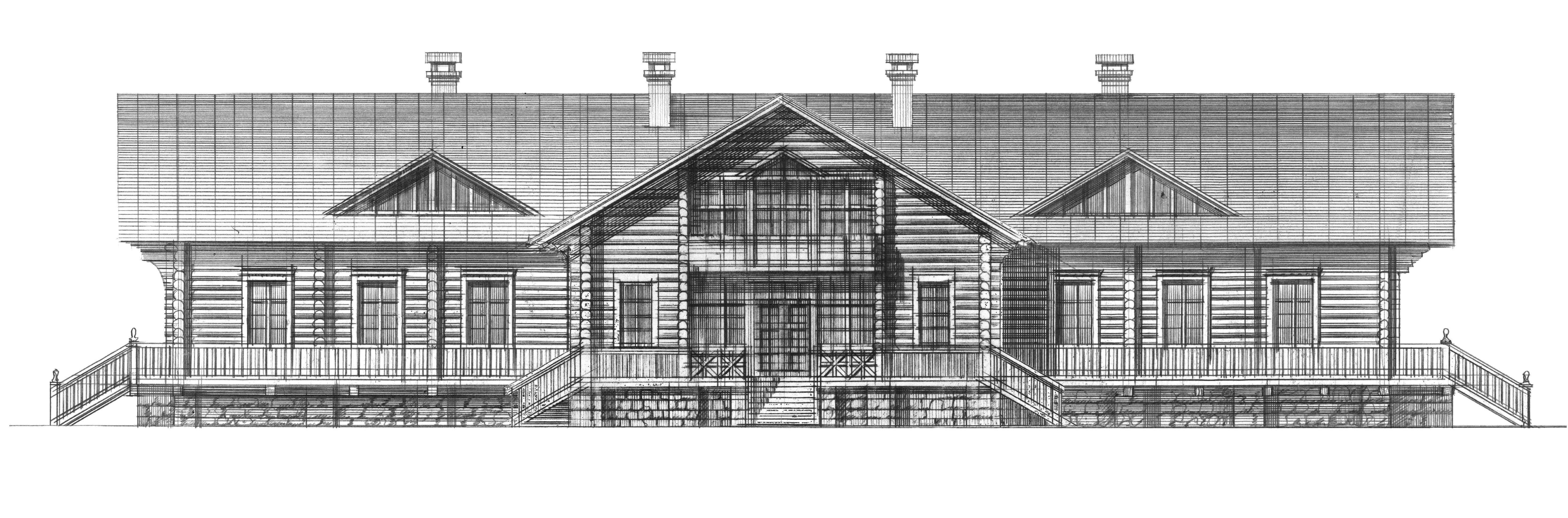 РЕЗИДЕНЦИЯ ПАТРИАРХА, главный фасад