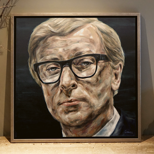 Sir. Michael Caine CBE Oil Portrait