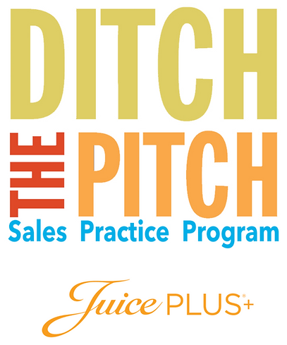 Juice Plus+ Ditch the Pitch Workbook – N