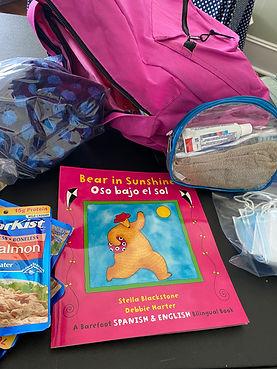 bear in sunshine backpack.JPG