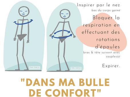 Ré.activer sa bulle de confort pour tenir à distance le stress