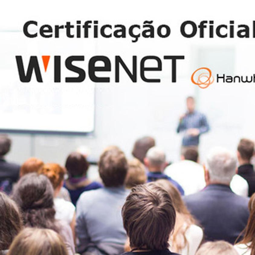 Certificação Oficial WISENET Hanwha (1)