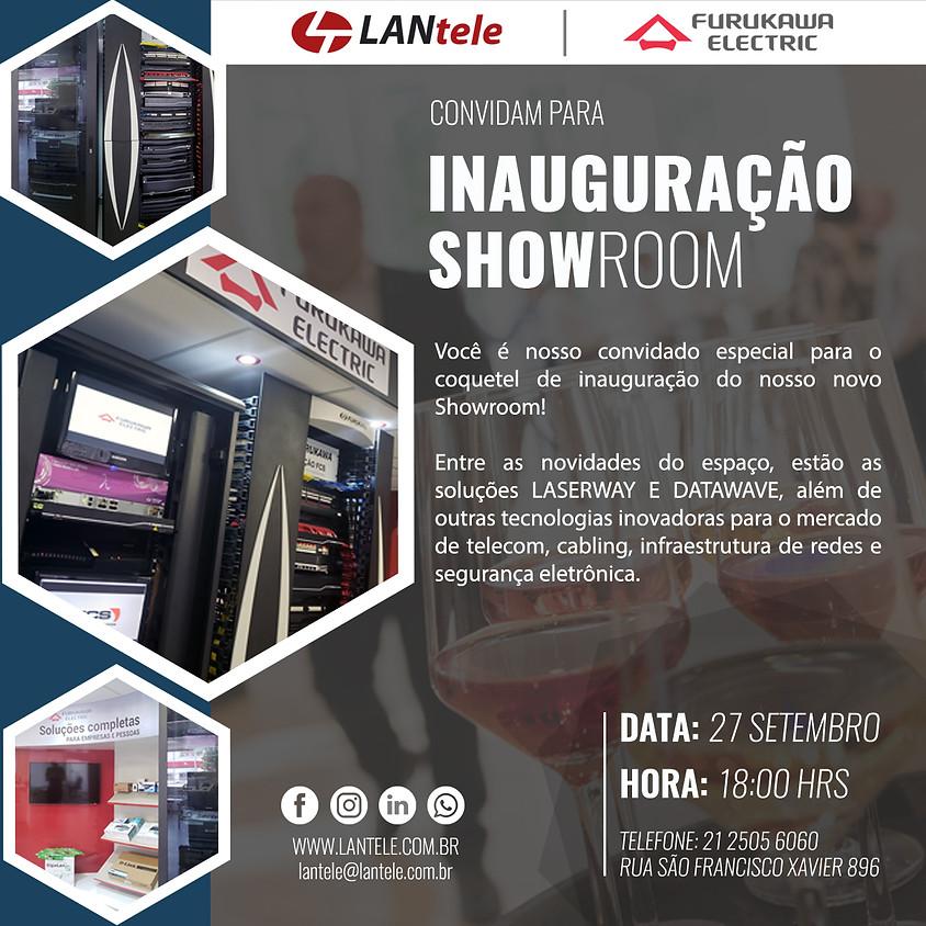 Coquetel de Inauguração Showroom LANtele & Furukawa