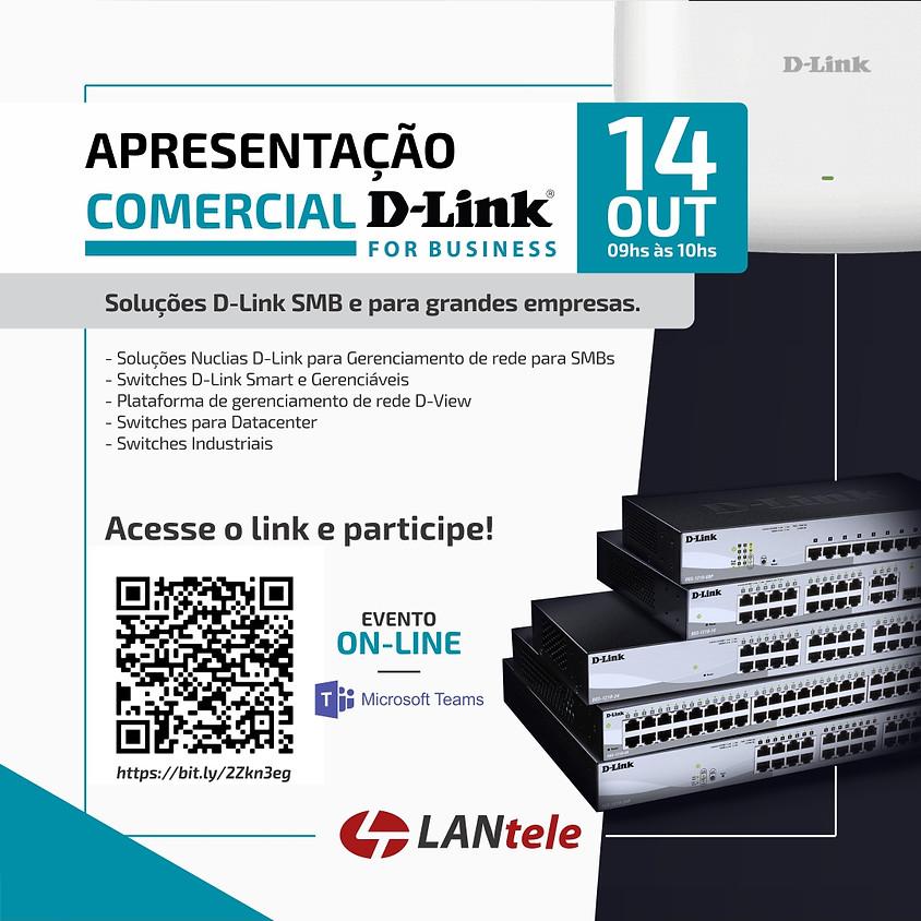 WEBINAR: APRESENTAÇÃO COMERCIAL D-LINK FOR BUSINESS