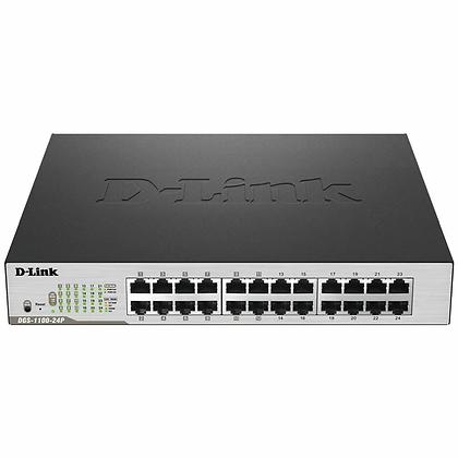 24-Port PoE Gigabit Smart Managed Switch • DGS-1100-24P