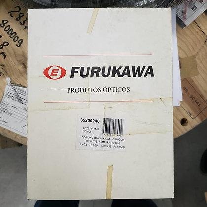 CORDAO OPT DUPLEX MM 50.0 OM3 10G LC-SPC/MT-RJ 10M FURUKAWA