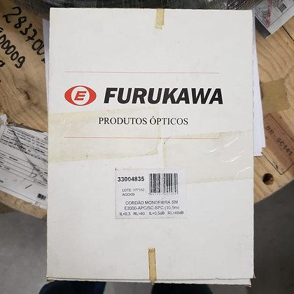 CORDAO OPT MONOFIBRA SM E2000-APC/SC-SPC 10M FURUKAWA