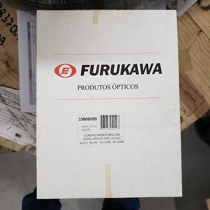CORDAO OPT MONOFIBRA SM E2000-APC/LC-SPC 10M FURUKAWA