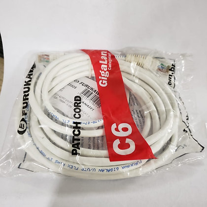 PATCH CORD GIGALAN CAT.6 3M BRANCO FURUKAWA