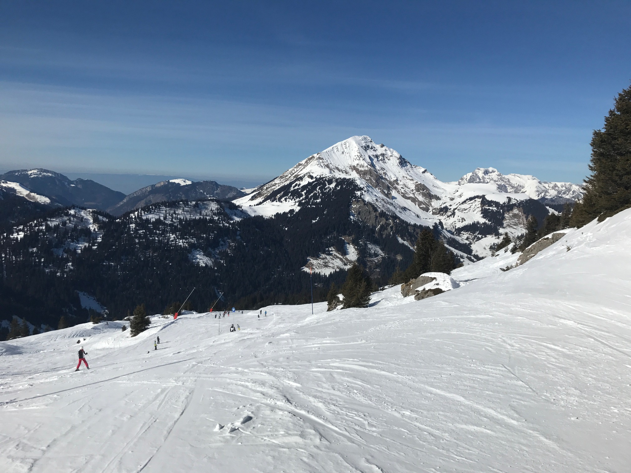 slopes in Chatel