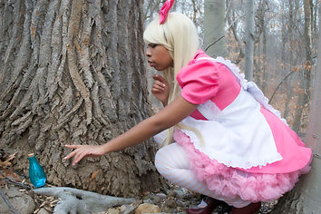 Polychrome Dreams Alice in Wonderland Cosplay