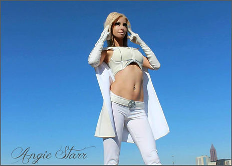 Angie Starr Emma Frost Cosplay