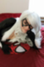 Cosplay costumes as black Cat