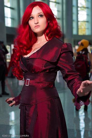 Alexandria the Red as Phoenix