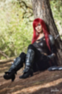 Illisia Cosplay as Katarina League of Legends Cosplay