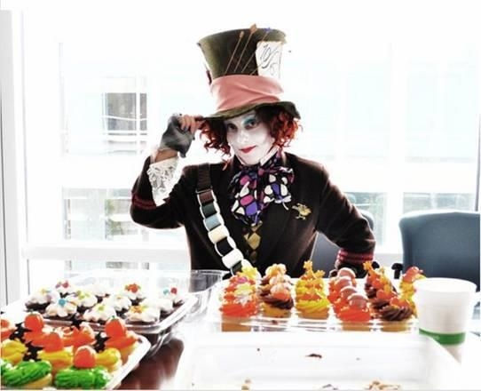 The Mad Hatter Cosplay