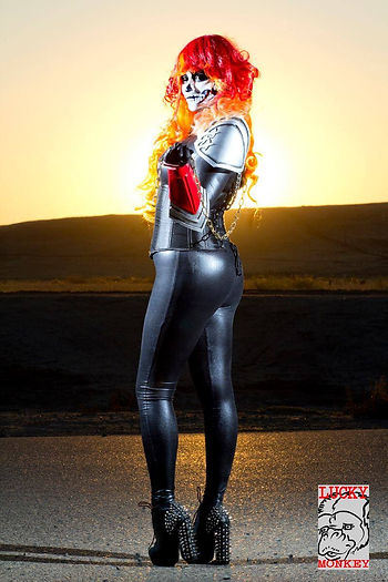 Holly Bjrooke Ghost Rider Cosplay