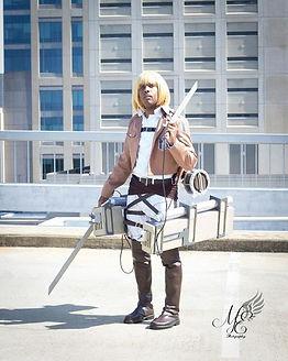 ManaKnight Attack on Titan Cosplay Costume