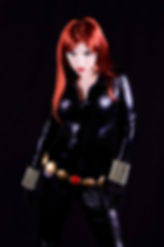 Kitty Honey as Black Widow