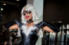 Polychrome Dreams Black Cat Cosplay
