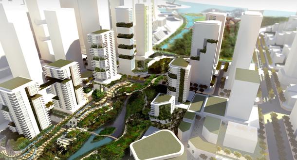 Marina Bay Eco-Corridor Concept