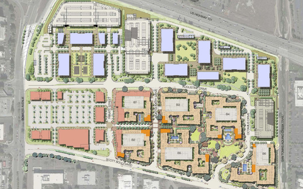 Santa Clara Square Plan