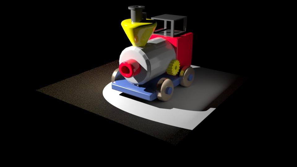 Toy Train | 3D Model