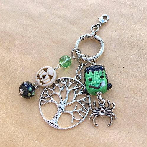 Frankenstein Halloween charm set