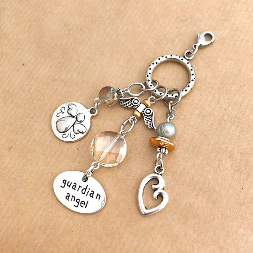 Guardian Angel charm set