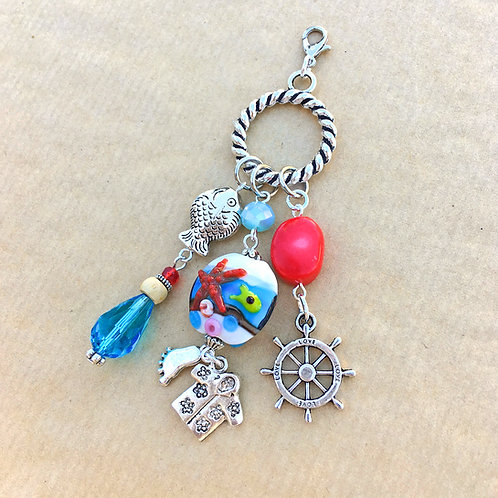 Sail Away charm set
