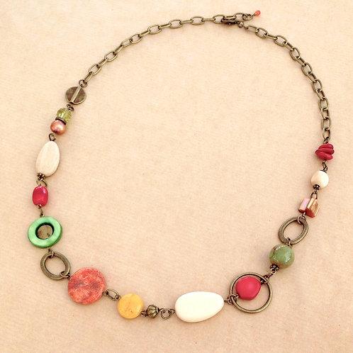 Citrus Circles necklace