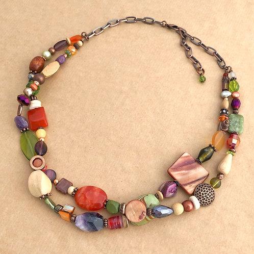 Autumn Jewels necklace