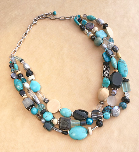 Paradise at Night necklace