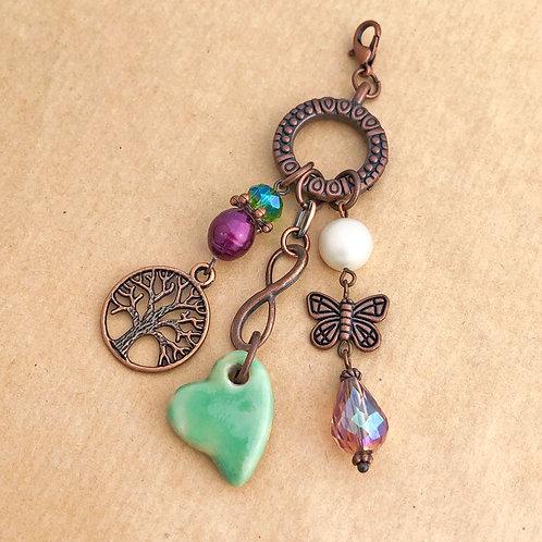 Daydreamer copper charm set