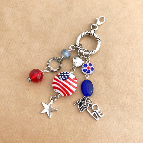 Patriotic charm set