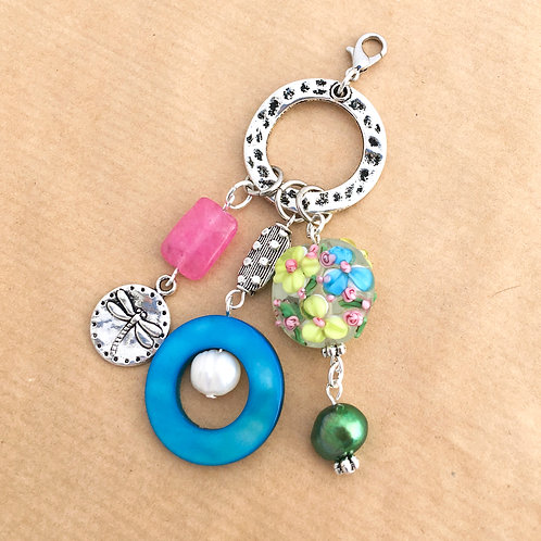 Bright Bouquet charm set