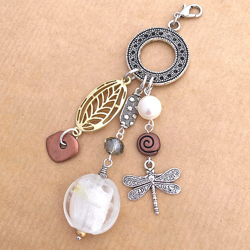 Graceful Dragonfly charm set
