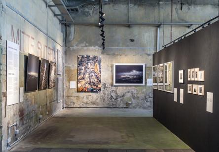 CAUE92 – Exposition Survols/Ülelennud, la photographie aérienne des villes, Tallinn (Estonie), 2019 © CAUE92.