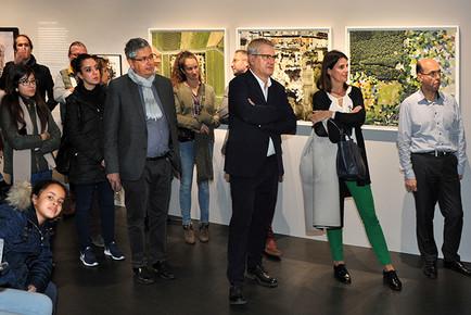CAUE92 - Exposition Survols, la photographie aérienne des villes, 2018-2019 © Carlotta Galante.
